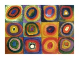 Squares with Concentric Circles Giclee-trykk av Wassily Kandinsky