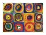 Squares with Concentric Circles Impressão giclée por Wassily Kandinsky