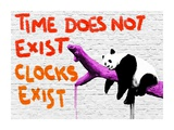 Time does not exist Stampa giclée di  Masterfunk collective
