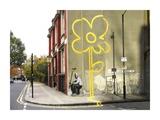Pollard Street, London (graffiti attributed to Banksy) Giclee-trykk