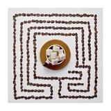 Café du matin Reproduction procédé giclée par Dina Belenko
