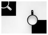 Tasses Reproduction procédé giclée par Jozef Kiss