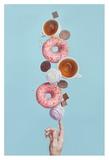 Weekend Donuts Reproduction procédé giclée par Dina Belenko
