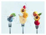 Making Fruit Salad Giclée-vedos tekijänä Dina Belenko