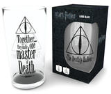Harry Potter - Deathly Hallows 500 ml Glass Neuheit