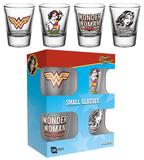 Wonder Woman - 60's Pop Shot Glass Set Rariteter