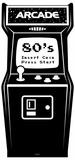 Golden Age Black and White Video Arcade Figura de cartón