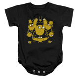 Infant: Adventure Time- The Many Shapes Of Jake Onesie Infant Onesie