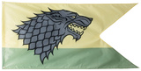 Game of Thrones - House Stark Outdoor Flag Drapeau