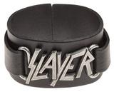 Slayer - Logo Leather Bracelet Armbånd