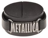 Metallica - Logo Leather Bracelet Bracelet