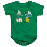 Infant: Adventure Time- Fionna And Cake Meet Up Onesie Infant Onesie