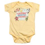 Infant: Steven Universe- Crying Breakfast Friends Onesie Infant Onesie