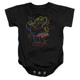 Infant: Mighty Mouse- Neon Hero Onesie Infant Onesie