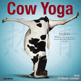 Cow Yoga - 2018 Calendar Calendarios