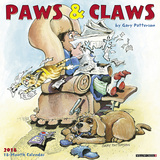 Gary Patterson's Paws n Claws - 2018 Calendar Kalenders