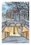 City Scene VI Kunstdrucke von Melissa Wang