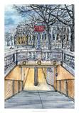 City Scene VI Poster by Melissa Wang
