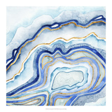 Cobalt Agate II Art by Grace Popp