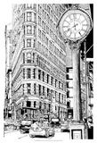 B&W City Scene VII Affiches par Melissa Wang
