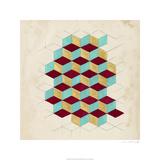 Geometric Pattern Play II Limited Edition by Naomi McCavitt