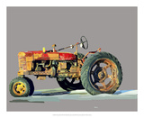 Vintage Tractor III Prints by Emily Kalina