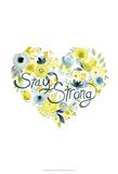 Heartfelt Floral I Stampe di June Erica Vess