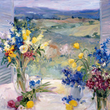 Tuscany Floral Prints by Allayn Stevens