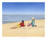 Beach Vacation IV Prints by Dianne Miller