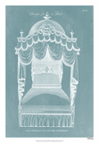 Design for a Bed III Giclee Print by  Hepplewhite