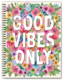 Good Vibes Only 17-Month - 2018 Hardcover Planner Kalenders