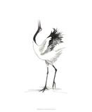 Japanese Cranes IV Reproduction procédé giclée par Naomi McCavitt