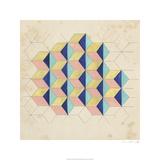Geometric Pattern Play I Limited Edition by Naomi McCavitt