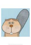 Super Animal - Beaver Plakater af Tatijana Lawrence