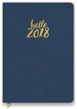 Hello Navy Leatheresque Weekly Planner Kalenders