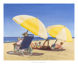 Beach Vacation IX Prints by Dianne Miller