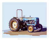 Vintage Tractor I Posters by Emily Kalina