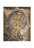 Exploding Raphaelesque Head Kunstdruck von Salvador Dali