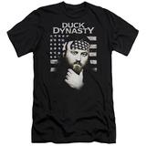 Duck Dynasty- Willie Robertson Americana Slim Fit T-shirts