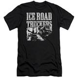 Ice Road Truckers- Break The Ice Slim Fit T-Shirt