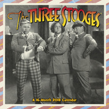 The Three Stooges - 2018 Calendar Calendriers