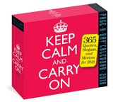 Keep Calm And Carry On Page-A-Day - 2018 Boxed Calendar Calendriers