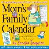Mom's Family Calendar - 2018 Calendar Calendriers