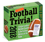 365 Days Of Football Trivia! Page-A-Day - 2018 Boxed Calendar Kalender