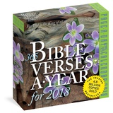 365 Bible Verses-A-Year Color Page-A-Day - 2018 Boxed Calendar Kalenders