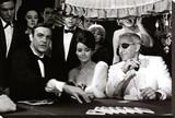 James Bond at the Casino, Thunderball Bedruckte aufgespannte Leinwand