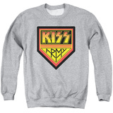 Crewneck Sweatshirt: Kiss - Army Logo T-shirts