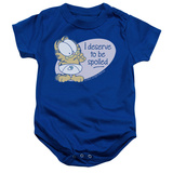 Infant: Garfield - Deserve To Be Spoiled Onesie Infant Onesie