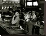 Paris, 1956 Trykk på strukket lerret av Robert Doisneau