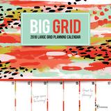 Big Grid - 2018 Calendar Calendriers